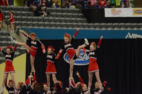 Cheerleaders Win State Championship