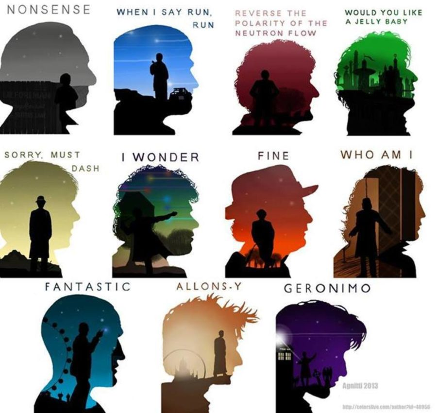 doctor who graphic catch phrases