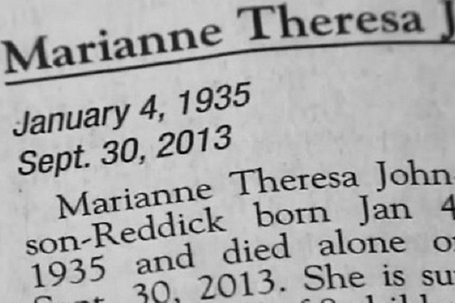 Mother's Shocking Nevada Obituary