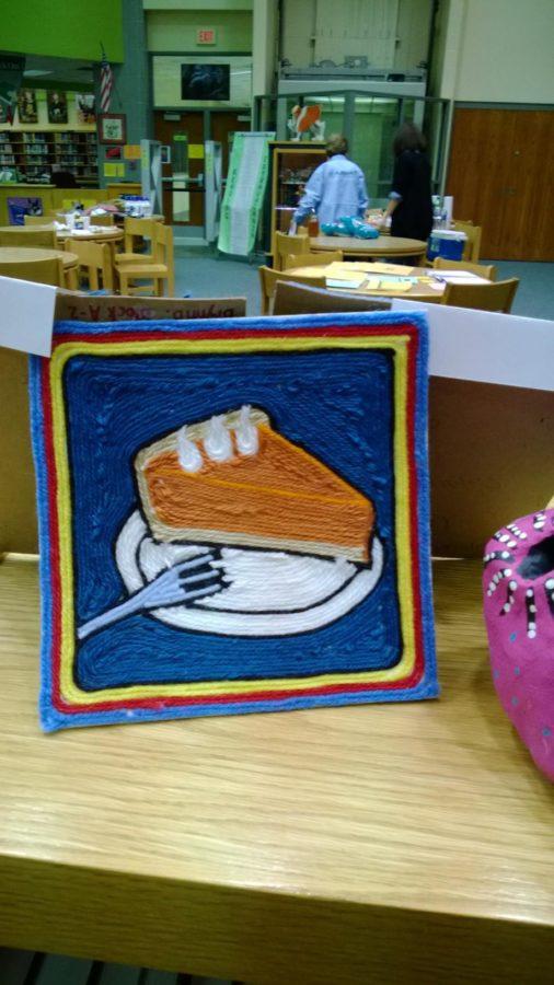 Yarn Art of pie