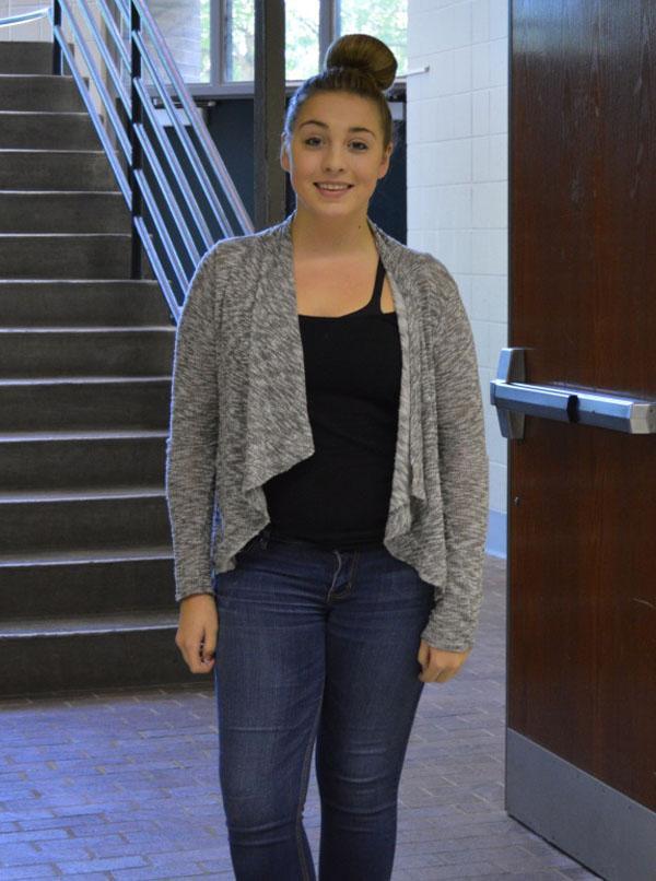 Freshman Ashton Pheu is excited to start school again.