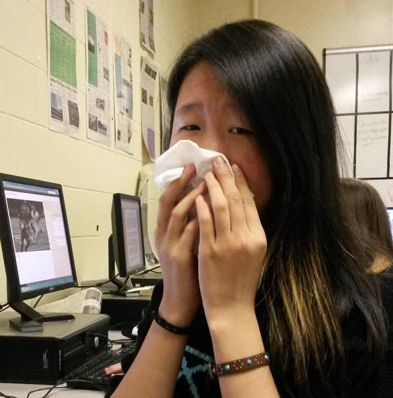 emily liu flu article sarah pic blow nose
