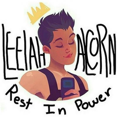 Memorial drawings for Leelah were created and posted to social media in the days after her death.