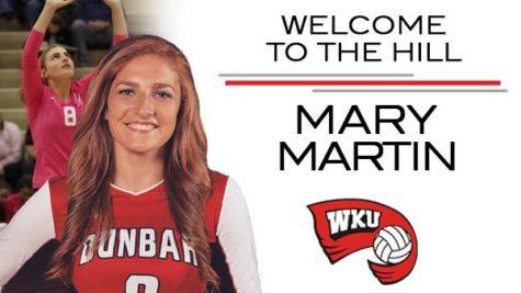 Mary Martin Commits to Western Kentucky