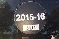 PLD 2015-16 Parking Sticker