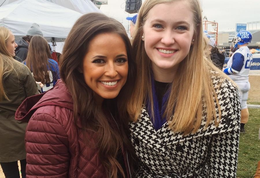 Shadowing Kaylee Hartung of SEC Nation