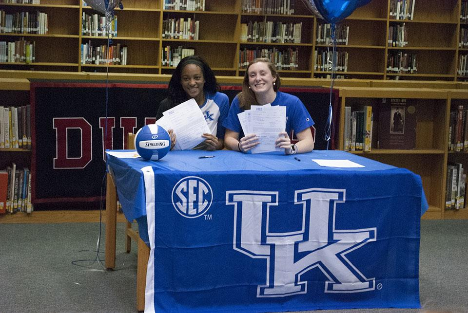 Student Athletes Begin to Sign