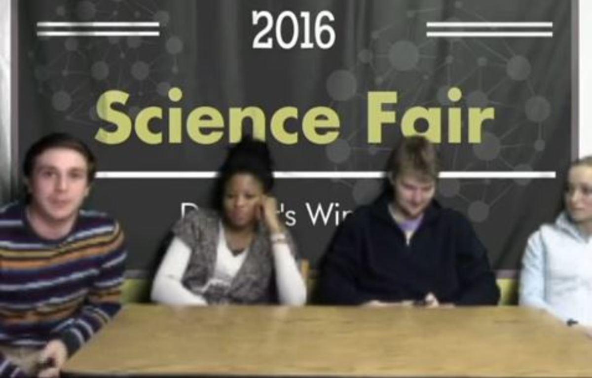 Dunbar Dominates at District Science Fair