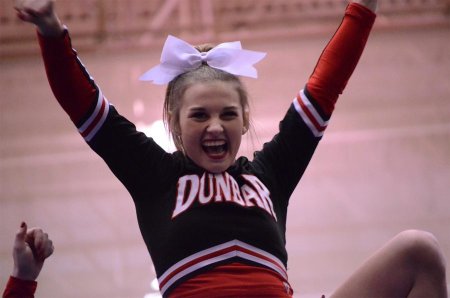 Fayette County Nationals Cheerleading Send-Off
