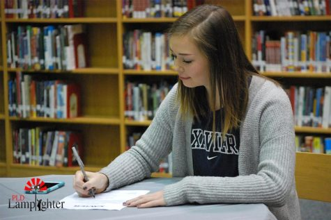 Katie Shunk Signs with Xavier