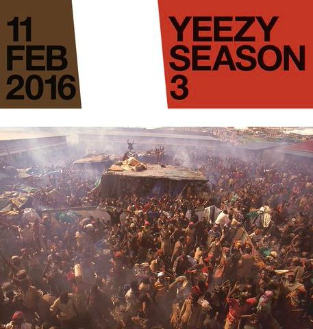 Yeezy Season 3 Promotional Image