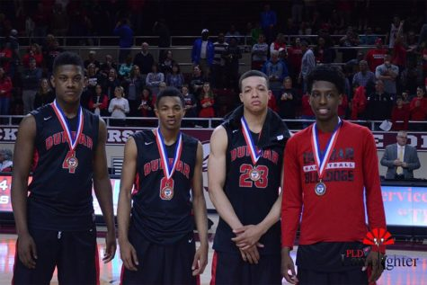 Players from left to right: Dontell Brown, Jordan Lewis, Darius Williams, Tavieon Hollingsworth