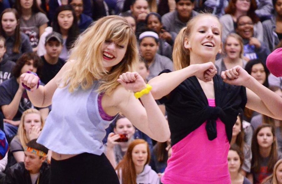 PLD March 15 Pep Rally: Dances and Games