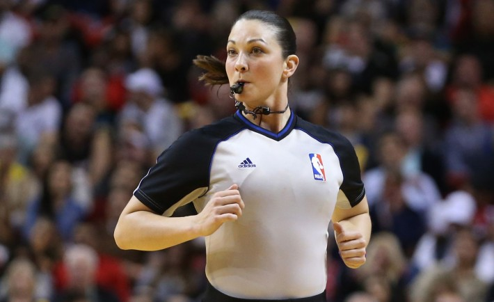 Personal Foul: Female Refs in Professional Sports