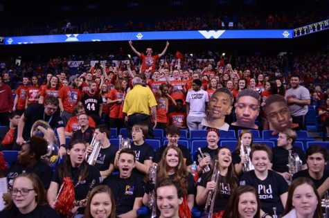The Dawg Pound showed out for the game on Wed. Mar. 16