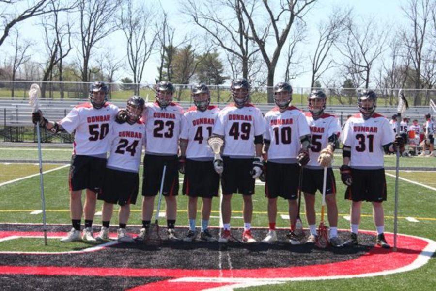 Dunbar lacrosse seniors