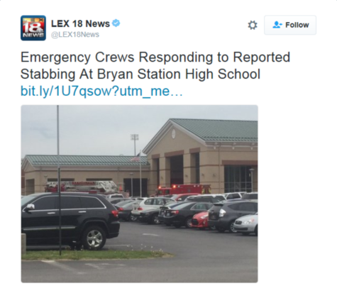 LEX 28 News reports on the incident