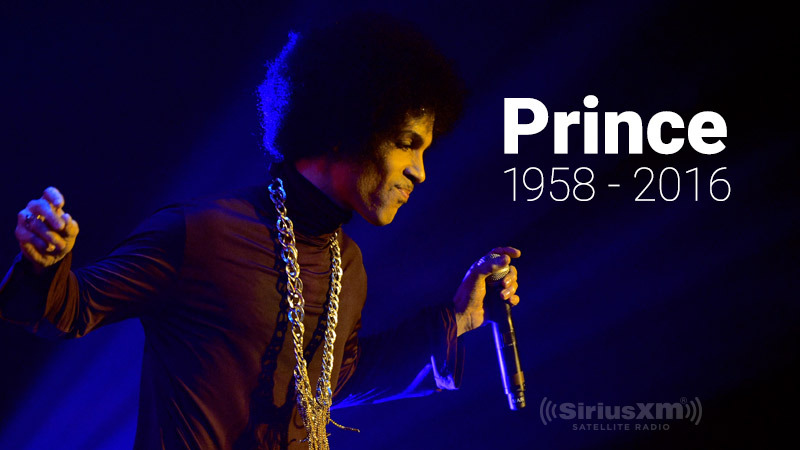 Prince died at age 57 on April 21, 2016