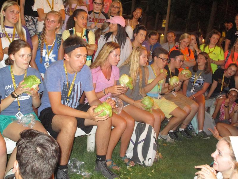 The Murray State University GSP Lettuce Club, organized by Senior Nisarg Patil