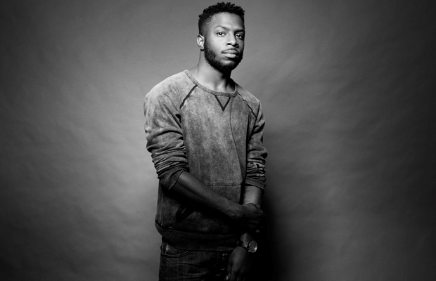 Recording artist, Isaiah Rashad poses for a studio picture