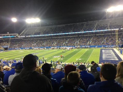 Commonwealth Stadium during last week's game against Mississippi State