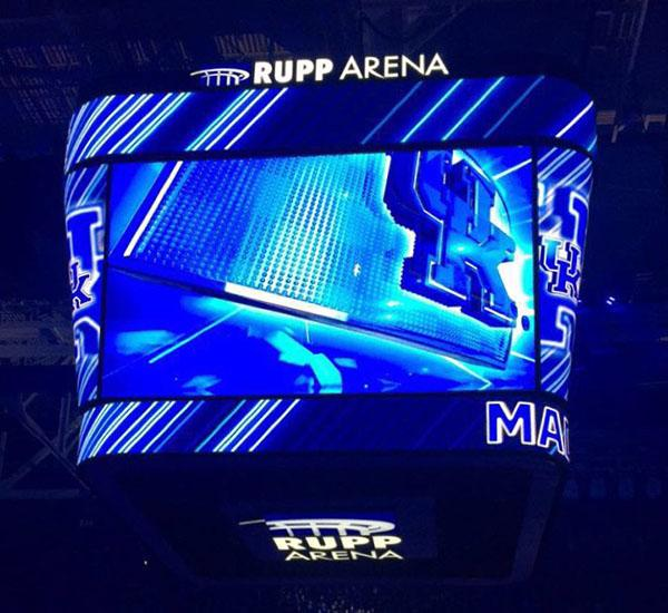 Rupp Arena hosted the Big Blue Madness event