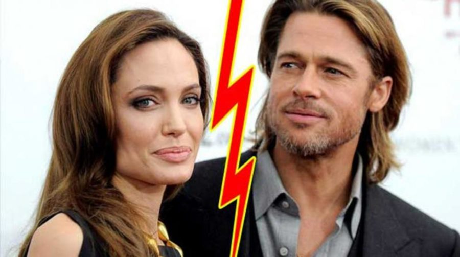 Actress Angelina Jolie filed for divorce from Brad Pitt