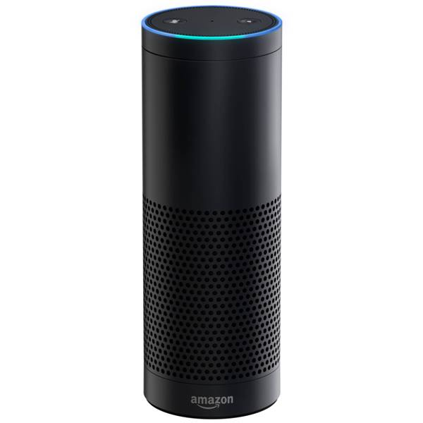 Amazon Echo is a voice command device from Amazon.com.