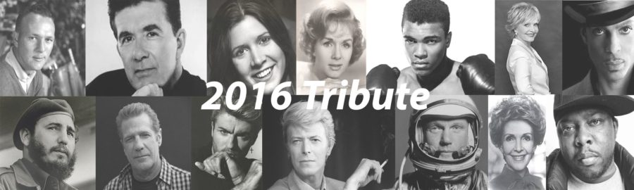 Tribute to Celebrities Who Passed Away in 2016