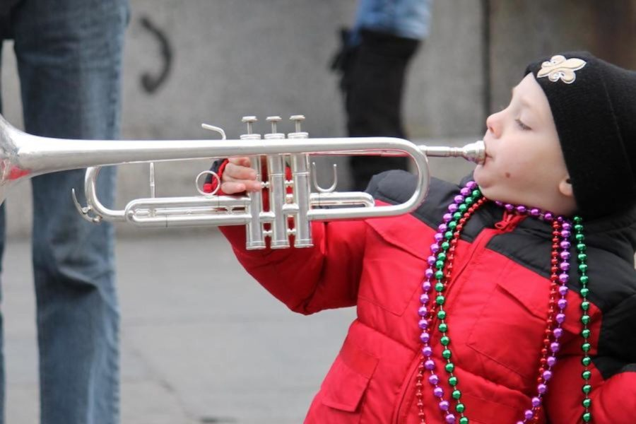 In New Orleans, every person of every age gets out and celebrates.
