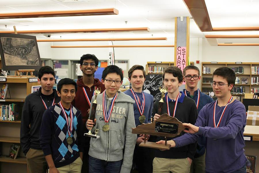 Dunbar Academic Team Competes in Governor Cup