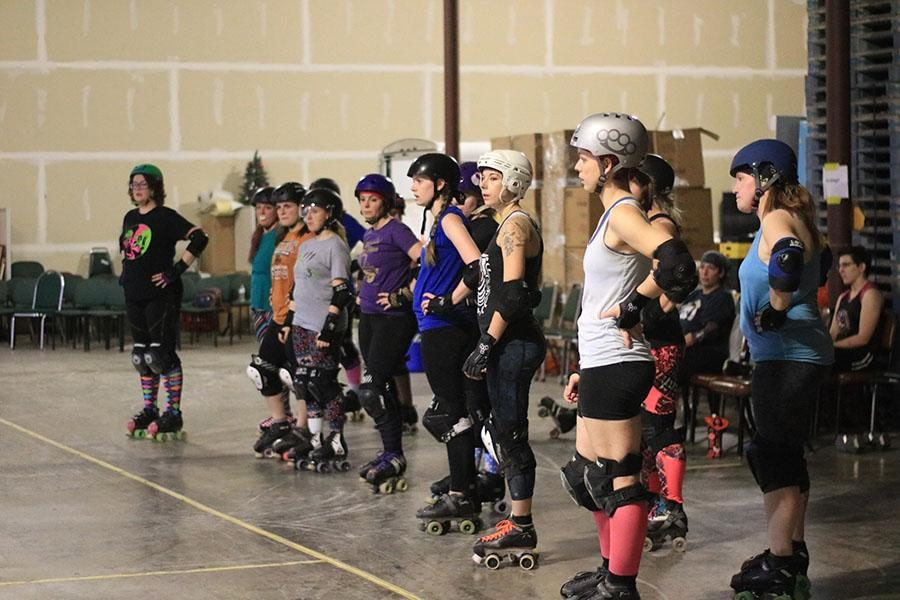 Art teacher Ms. Emily Storch has played roller derby with the Rollergirls of Central Kentucky since 2012.