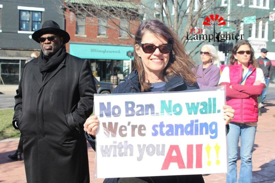 No Ban. No Wall. Were standing with you ALL!!