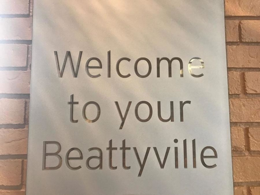 Welcome to your Beattyville: The Beattyville sign welcomes new visitors.