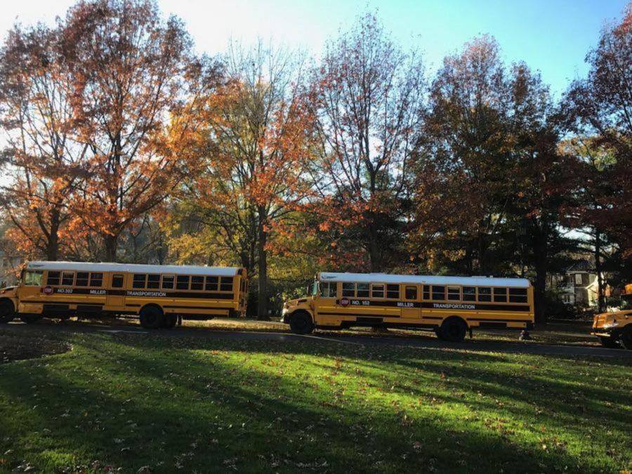 Kentucky entering the fall season in early November.