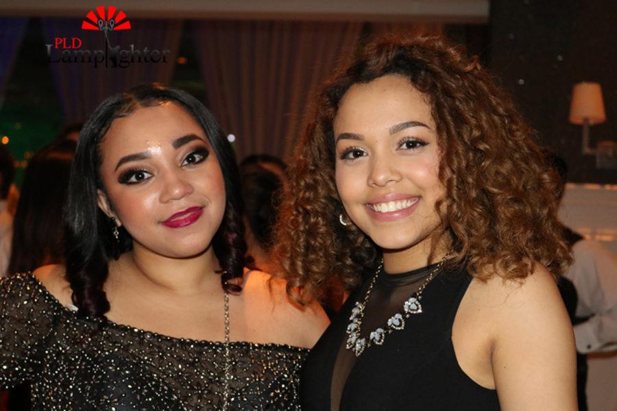 Valeria Santiago and Brittana Turner at prom.