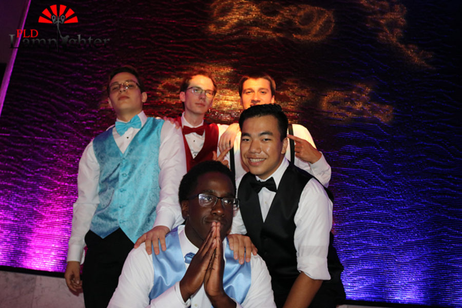 PLD Sports Boys together at prom.