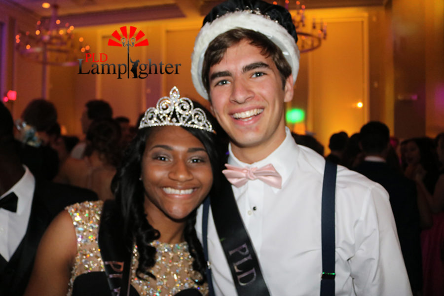 2017 Prom King and Queen were crowned: Nakaiya Mayberry and Jackson Stokley.