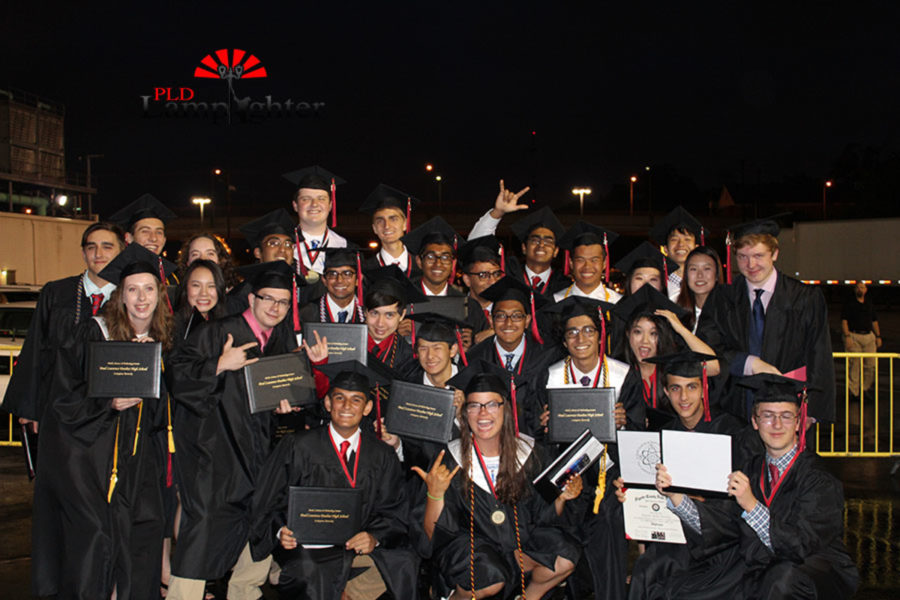 A group of MSTC graduates pose together after the ceremony.