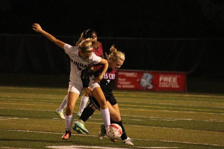 Girl's Soccer Triumphs on Senior Night