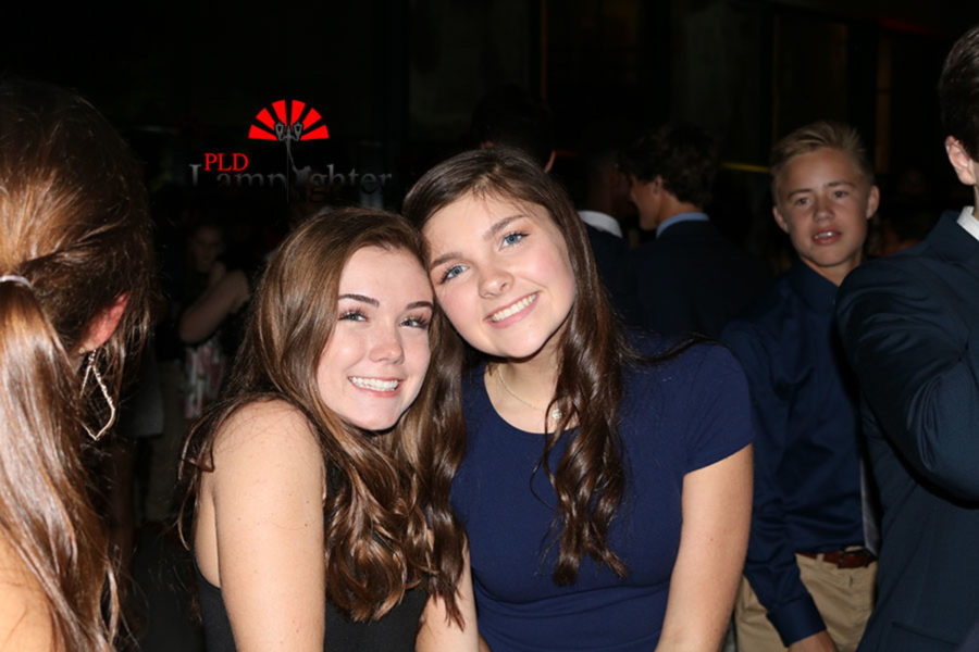 Jackie Wiggam and Caroline Brown give their smiles for the camera.