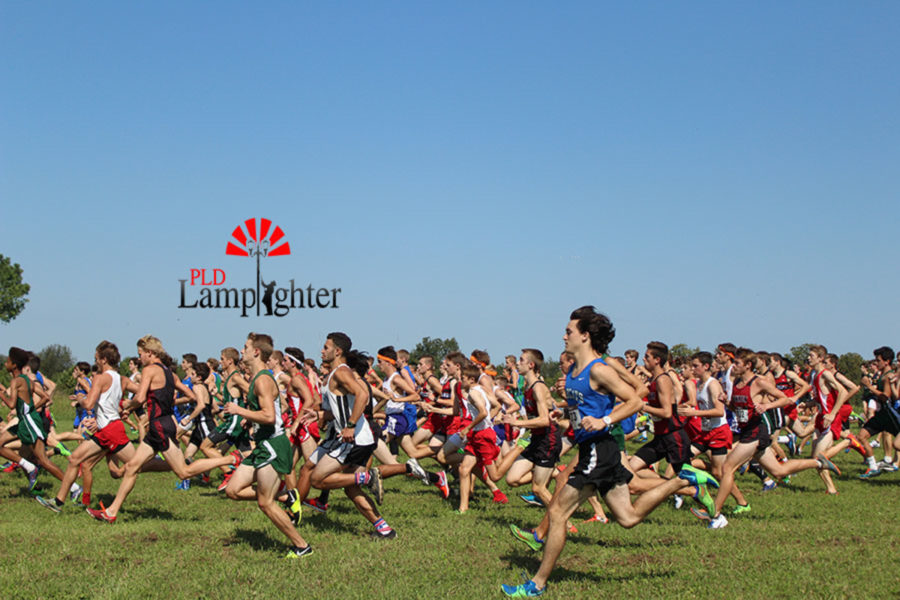 The+boys+begin+their+5k+race+at+the+Bluegrass+Cross+Country+Invitational.