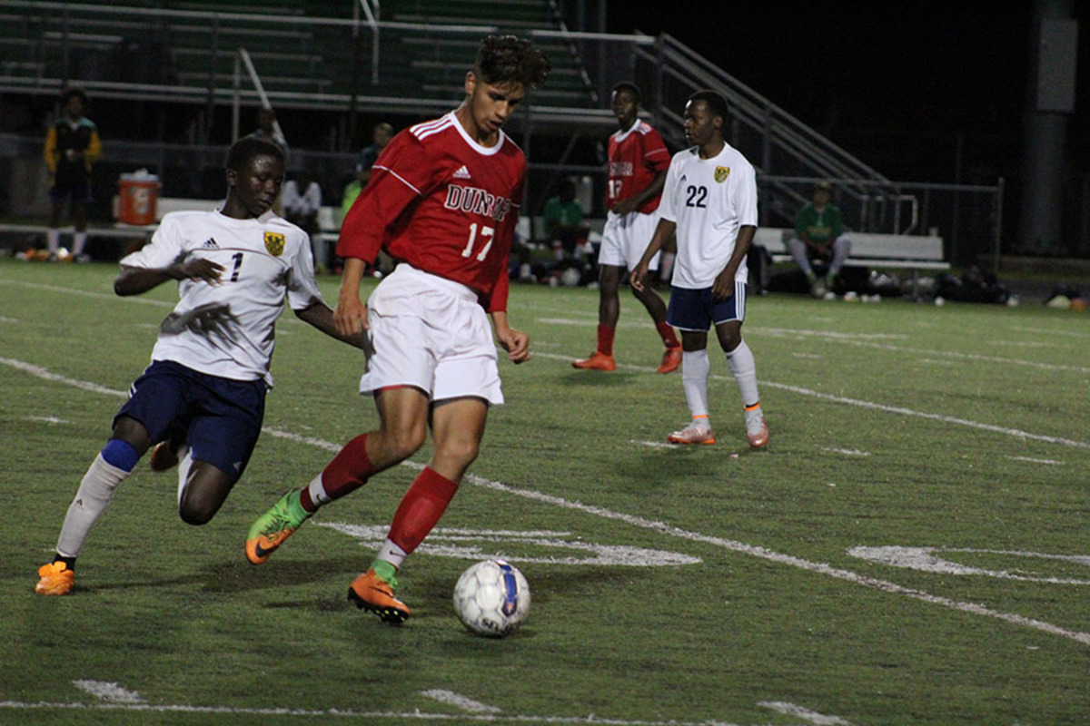 Boys' Soccer Narrowly Defeats Bryan Station