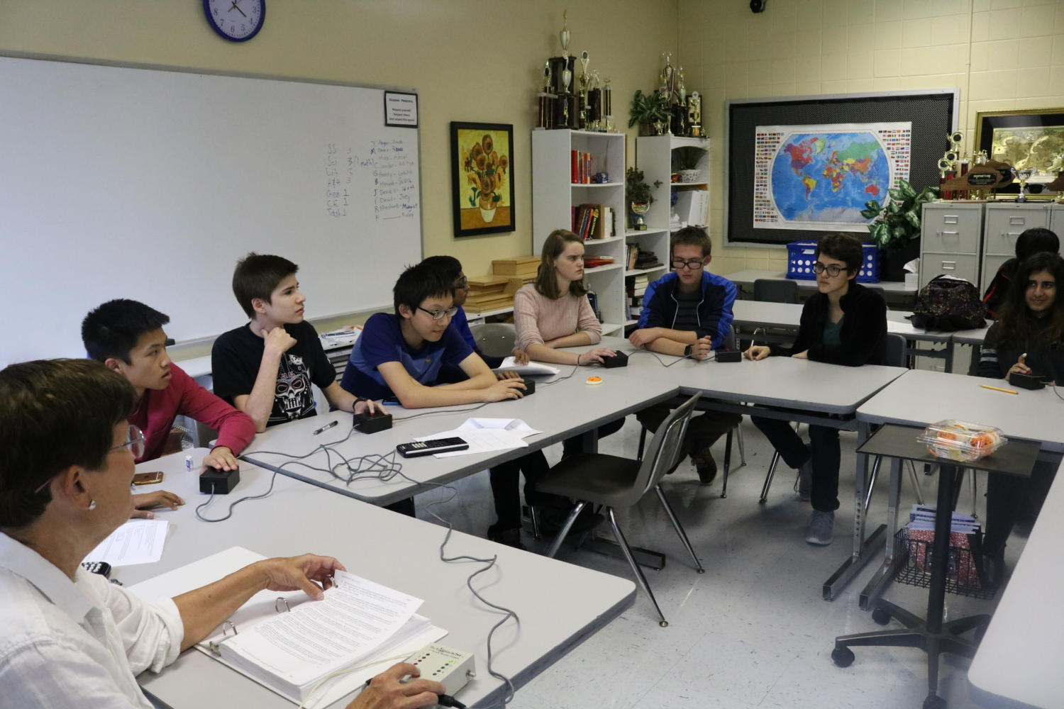 Dunbar Academic Team Maintains a Busy Schedule