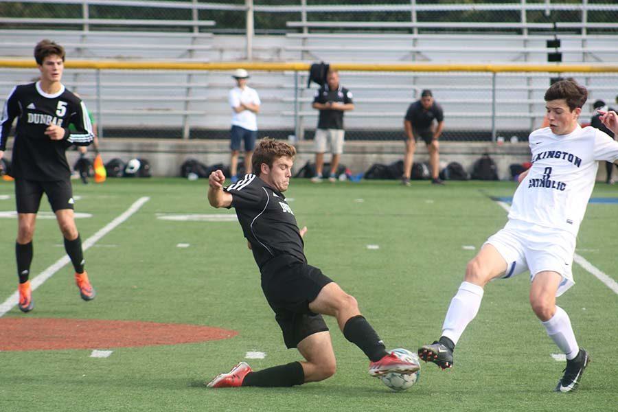Boys' Soccer Defeated By Lexington Catholic