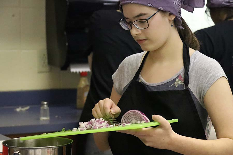 Culinary Students Compete in Bulldog Top Chef