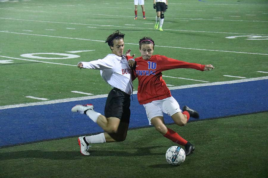 Boys' Soccer Win Region Semi-Finals