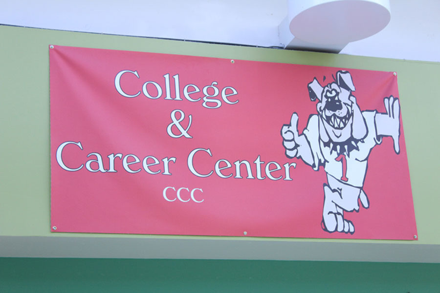 The College and Career Center is a resource for Dunbar students seeking information about life after high school.