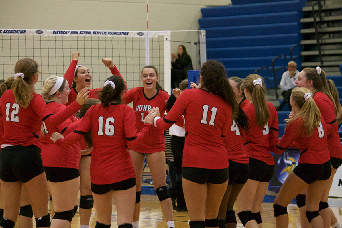 Volleyball Wins First Round Of State