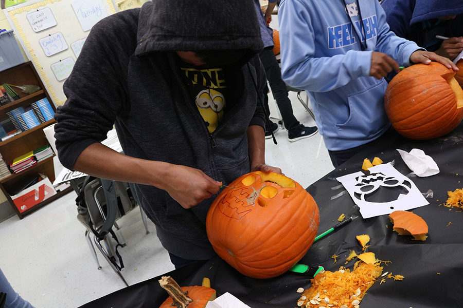 ESL Students Embrace Halloween Traditions